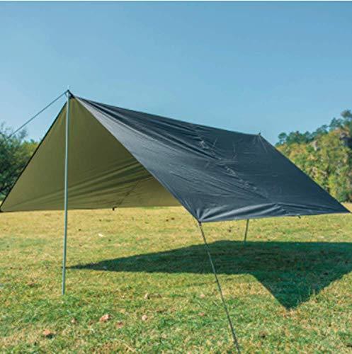 Mitef Outdoor Sonnenschutz Multifunktional Strandzelt Licht Wasserdicht Zelt, Unisex, schwarz, 300x300cm(118.1