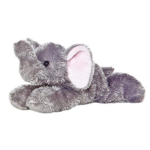Aurora, 12760, Mini Flopsie Eléphant, 20 cm, Peluche, Gris