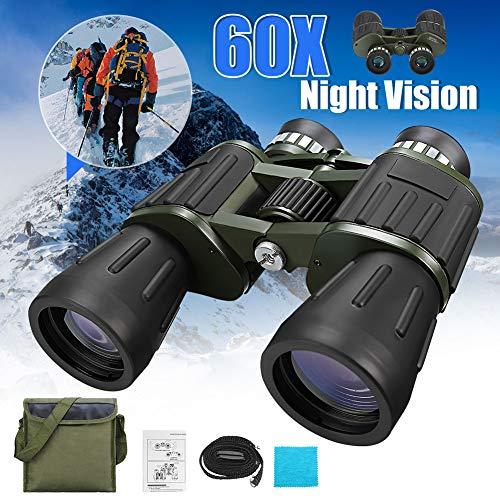 Daxerg verrekijker nachtzicht 60 x 50 zoom, krachtige HD-look voor campingreizen in de open lucht