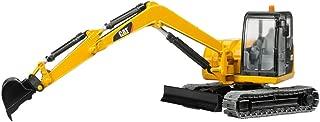 Bruder Caterpillar Mini Excavator Toys, Yellow/Black