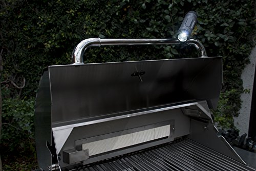 Charcoal Companion CC5166 Sound Beam Barbecue Grill Light with Bluetooth Speaker - BBQ Accessory for Grill
