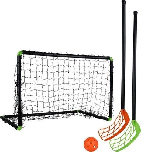 Stiga Sports Unihockeyset Set Player 60, Schwarz, STANDARD