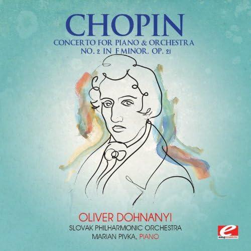 Slovak Philharmonic Orchestra, Oliver Dohnanyi & Marian Pivka