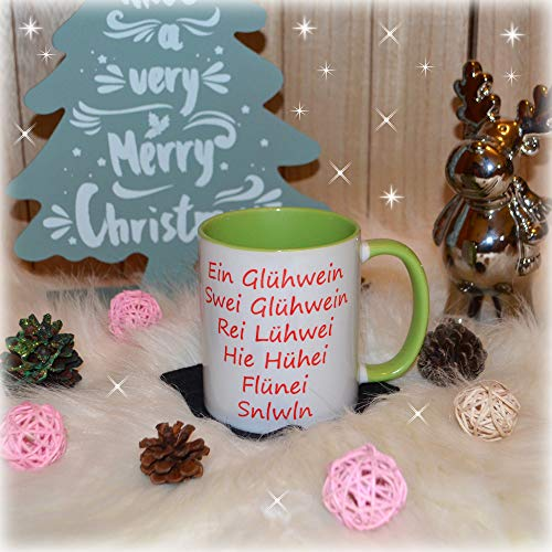Tasse Becher Weihnachten Advent Glühwein