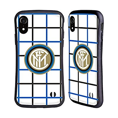 Head Case Designs Officially Licensed Inter Milan Away 2020/21 Crest Kit Hybrid Case Compatible with Apple iPhone XR