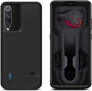 Compatible with Xiaomi Mi 9 Xiaomi Mi 9 Explore Battery Case, Yuqoka 5000mAh Portable Protective Charging Case Rechargeable Backup Extended Battery Power Bank for Xiaomi Mi 9 / Mi 9 Explore Golden