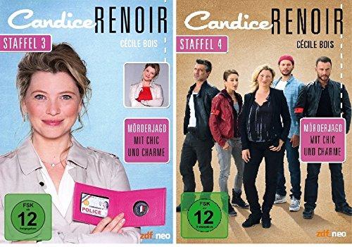 Candice Renoir - Staffel 3+4 - im Set - Deutsche Originalware [6 DVDs]