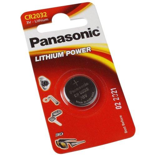 ollytrading Panasonic CR2032Batteria al Litio a Bottone 3V sostituisce DL2032BR2032kcr2032lm2032