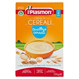 Plasmon Crema di 4 Cereali dal 4 Mese, 230g