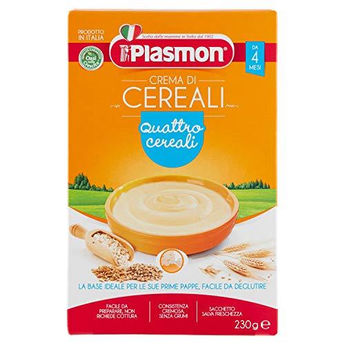 Plasmon Crema di Cereali - Quattro Cereali 230 g
