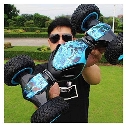 RC Toy Cars Niños Off Road Control Remoto Stunt Car Vehículo 2.4Ghz Racing Slot Cars Coche eléctrico Rolling Rotati (Smart Car)