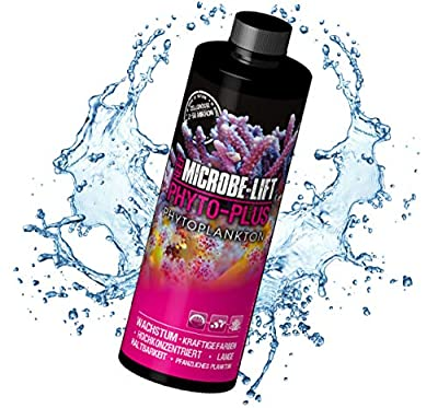 Microbe-Lift Phyto (Vegetable/Plankton for corals & Low Animals in any Salt Water Aquarium, Food Plankton, to increase Growth and Natural Color Loose Wave Machine-made is rich in essential fatty acids, Carbohydrates, Amino Acids, Lipids, Omega-3 Acids and