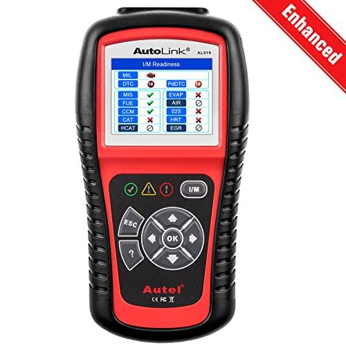Autel AutoLink AL519 OBD2 Scanner Enhanced Mode 6 Car Diagnostic Tool Check...