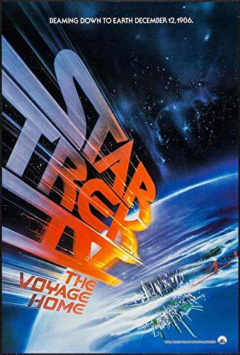 Star Trek IV The Voyage Home 2 Filmposter – Beste Druck-Kunstreproduktion Qualität Wanddekoration Geschenk – A1 Poster (84/59 cm) – Hochglanz-Fotopapier