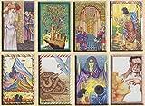 Oracle du Maître – Juego de 78 tarjetas – Tarjetas de visión con explicación de 78 hojas (libro en FR) – Juego de Tarot Divinatorio para descubrir