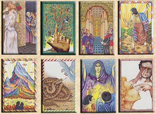 Oracle du Maître - Jeu de 78 Cartes - Cartes de voyance avec Explication des 78 Lames (livret en FR) - Jeu de Tarot Divinatoire à découvrir