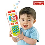 ACTRINIC Baby Remote Control Toys with Multi-function,Lights and Music,Click and Count Remote Best