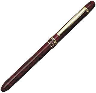 プラチナ万年筆 多機能ペン ダブル3アクション 手帳用 レッドマーブル MWBS-2000#70
