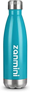 zanmini Stainless Steel Water Bottle, Vacuum Insulated Double Walled Cola Shape Bottle Leak-proof, Keeps Drinks Cold for 12 hours & Hot for 24 hours for Outdoor Hiking & Camping Canteens & Water Bottles