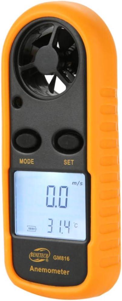 Digital Anemometer Wind Speed Gorgeous Award-winning store Handheld LCD Wi