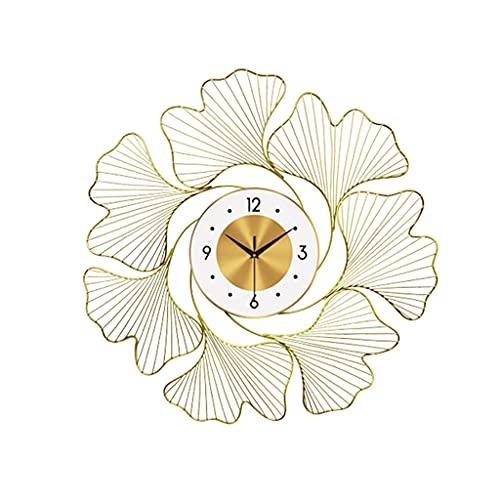 Diaod Reloj de Pared de Hierro Forjado, Pegatina de Pared, Manualidades, Adornos para Colgar en la Pared, Sala de Estar, decoración de Mural de Pared para el hogar, Reloj de Oficina de Hotel
