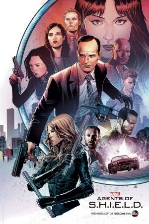 Agents of S.H.I.E.L.D - Imported Movie Wall Poster Print - 30CM X 43CM Shield Marvel