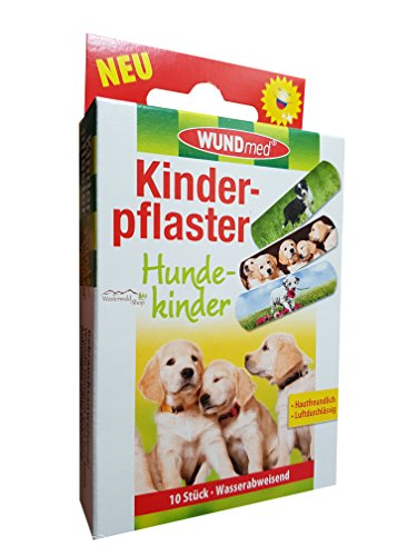 Kinderpflaster Hunde 10 Stück