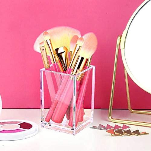 Acrylic makeup brush holders _image0
