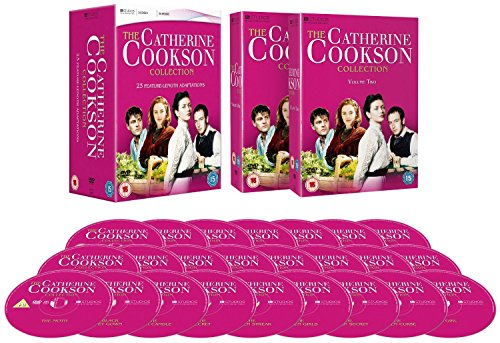 Catherine Cookson 23 Feature Length Adaptations Complete (24 Discs) DVD Box Set Collection - Moth / Black Velvet Gown / Black Candle / Secret / Mallen Streak / Mallen Girls / Mallen Secret / Mallen Curse / Girl / Fifteen Streets / Rag Nymph / Wingless Bird / Dwelling Place / Glass Virgin / Tilly Trotter / Cinder Path / Man Who Cried / Round Tower / Tide of Life / Colour Blind / A Dinner of Herbs Part 1 and 2/ Gambling Man / Storyteller