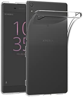 MaiJin 対応ソニー Sony Xperia XA Ultra/Xperia C6 (6インチ) 透明 耐衝撃 スマホケース TPU クリア ソフト 背面保護カバー