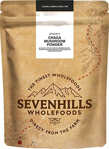 Sevenills Wholefoods Bio Chaga Pilz Pulver 250 g