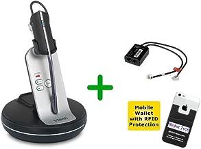 Global Teck Bundle w/Grandstream Compatible Vtech VH6210 Cordless Headset w/EHS Included | Phones: GXP1630, GXP1628, GXP1625, GXP1615, GXP1610, GXP2170, GXP2160, GXP2140, GXP2135