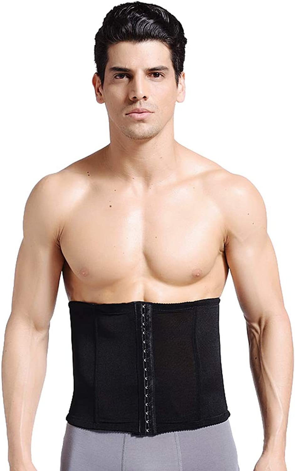 Men's Abdomen with A Waist and Breathable Body Sculpting Abdomen Beer Belly Thin Waist Invisible Abdomen Girdle