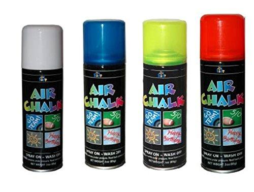 Achoka 30125 Spray de Traçage 125ml - 4 Couleurs Ass, Polyester Imprimé 15 x 0,5 x 4,5 cm