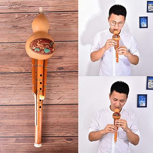 AOWA profeesional chinesischer hulusi Kürbis Kürbisflöte c ethnisches Schlüsselinstrument