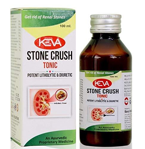 Keva Stone Crush Tonic - 100% Ayurvedic, Herbal, Powerful & Safe Formulation (100 ml)