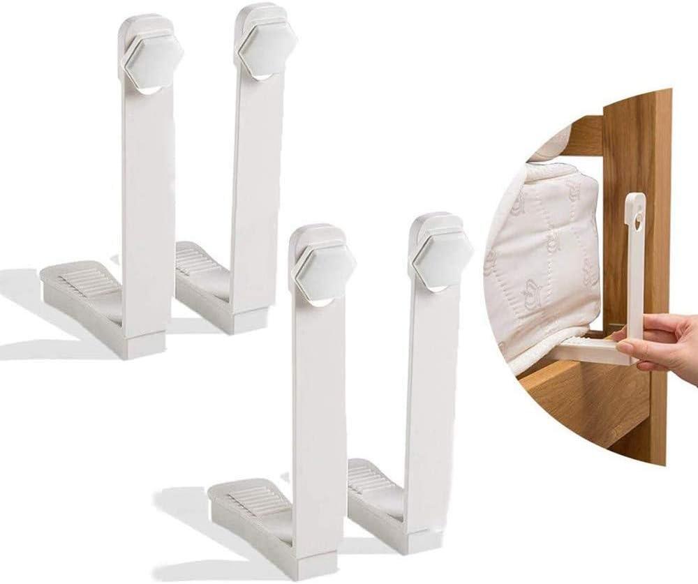 Juego de pinzas para s/ábanas sujetador de colch/ón sujetadores blanco,8PCS pinzas para sujetar las s/ábanas s/ábanas ajustables Instalaci/ón f/ácil