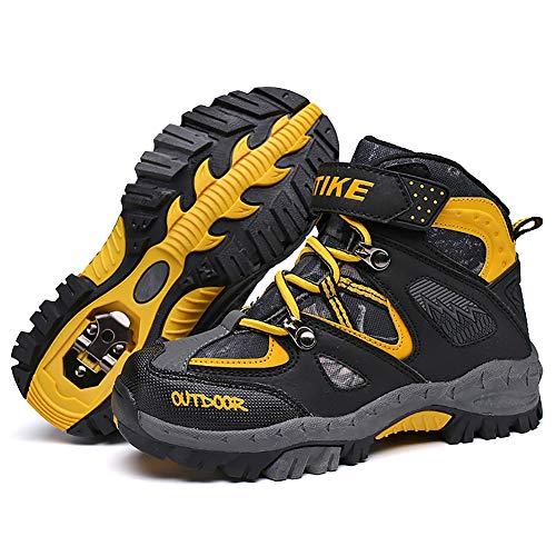 Zapatillas de Trekking Botas de Senderismo Botas de Nieve Unisex Niños Botas Deportivas para niños Botas de Invierno cálidas Antideslizantes Corte Alto