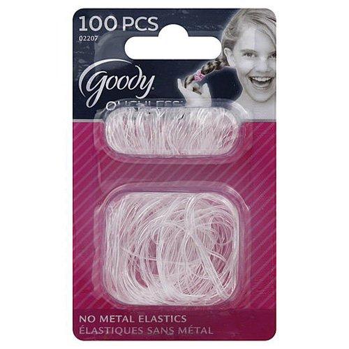 Goody Girls Classic Mini/Small Mixed Latext Elastics 100 Count Item #02207