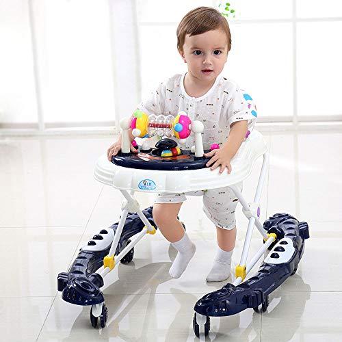 WUYY Andadores Beby 2 En 1 Multifuncional Anti-Rollover Bebé Niña Niños Pequeños Mano...
