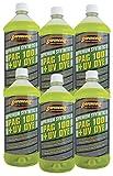 TSI Supercool P100-32D-6CP 100 PAG Viscosity Oil Plus U/V Dye, 32 oz, 6 Pack