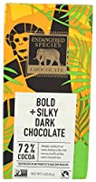 Endangered Species Chocolate Bold Silky Dark Chocolate 3 oz 85 g