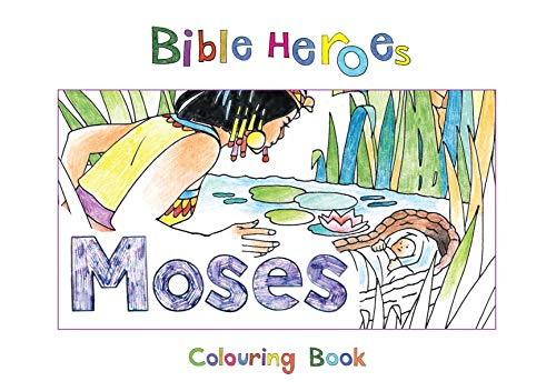 Bible Heroes Moses (Bible Art)
