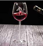 VYEKL Caballito de mar Copa de Copa de Vino Tinto Copas Jugo Bebida Copa de champán Barware Party Bar Suministros de Barra de Cocina 300ml