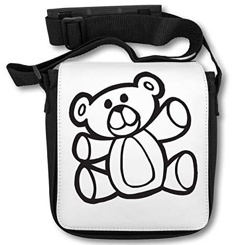 Teddy Car Sticker Schultertasche