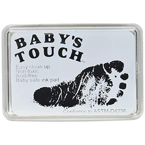Our #6 Pick is the Baby's Touch Baby Safe Reusable Hand & Foot Print Inkpads
