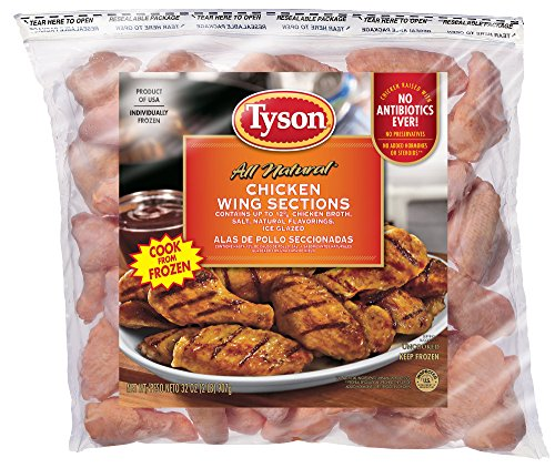 Tyson Chicken Wing Sections, 2 lb. (Frozen)