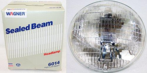 Wagner Sealed Beam 7' Round Headlight #6014 12v Car Truck Motorcycle...