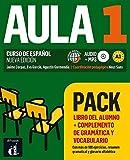 Aula 1 Pack Libro + Complemento de gramática y vocabulario: Aula 1 Pack Libro del alumno+complemento de gramática y vocabulario