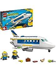 Zestaw konstrukcyjny LEGO® Minions 75547 Minionek uczy się pilotażu, do zbudowania i kreatywnej zabawy z figurkami Minionków (119 elementów)